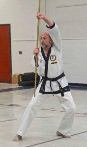 Gary Starecheski instructing Tang Soo Doo