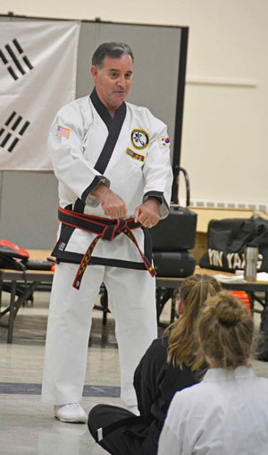 Grandmaster St. James President and CEO Atlantic-Pacific Tang Soo Do Federation