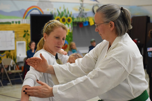 Adults Training in Martial Arts at Crouching Lion